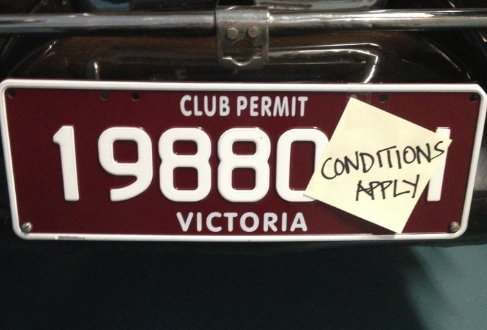 Club Plate Information for Members